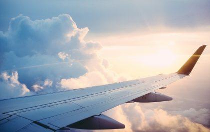 wakacje samolot